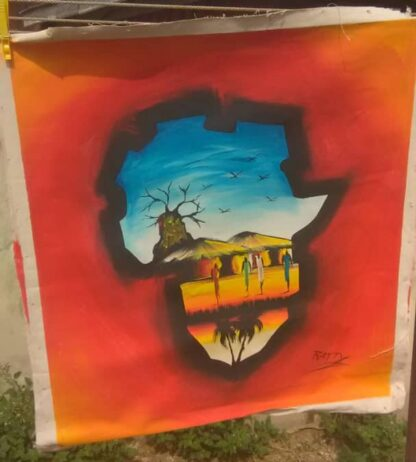 Village Inside Africa Map