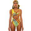 African yellow totem