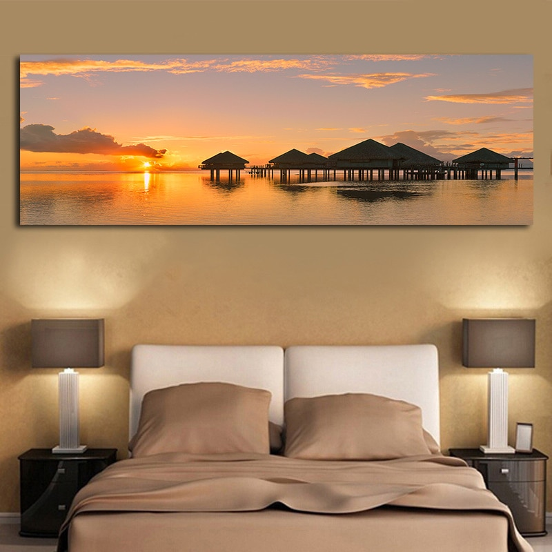 Sunrise Natural Landscape Print on Canvas